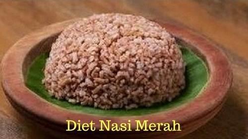 menu diet nasi merah bikin langsing